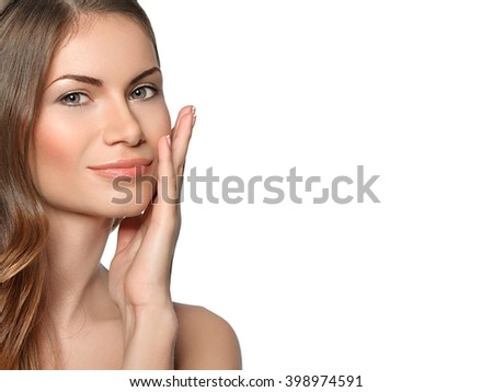 Twenty Something Woman Makes A Funny Face Stock Photo, Picture And ...