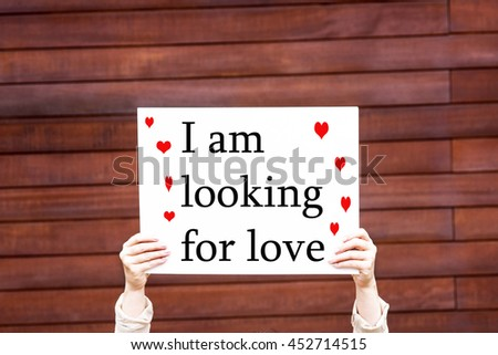 woman with a foul love you - stock photo