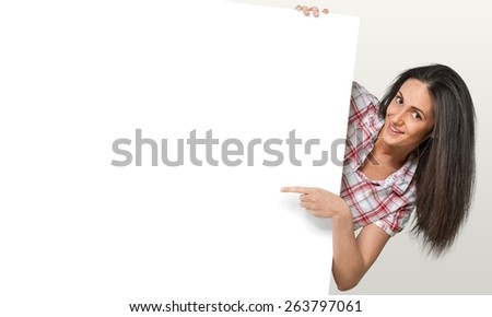 Women. Around the Edge - stock photo