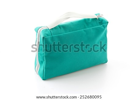 women bag on white background
