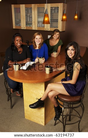 Women Bible Study Group - stock photo