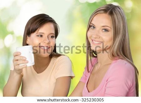 Women Friendship. - stock photo
