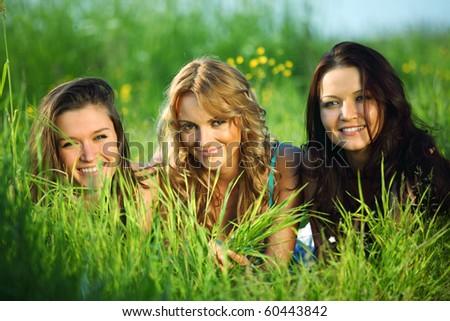women fun - stock photo