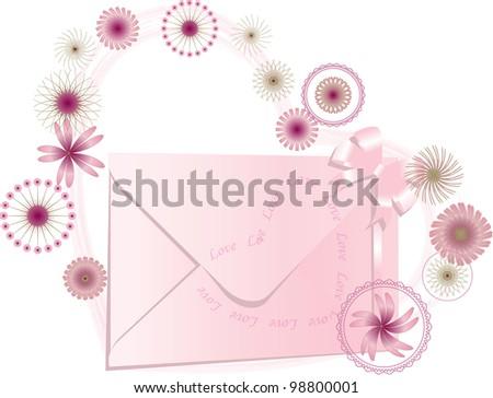 Women love mail - stock photo