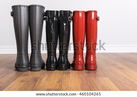 Women's and Men's Rubber Boots