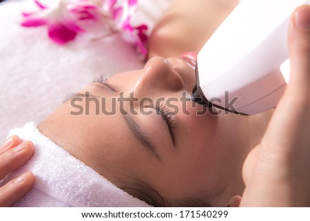 Women's beauty and health salons - stock photo