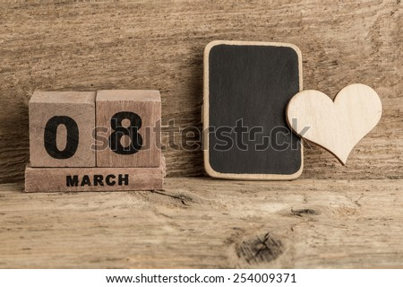 women's day template - stock photo
