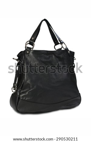 Women's handbag on a white background