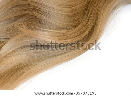 Women's natural blonde hair background