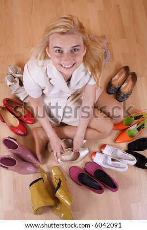 Women's paradise - stock photo