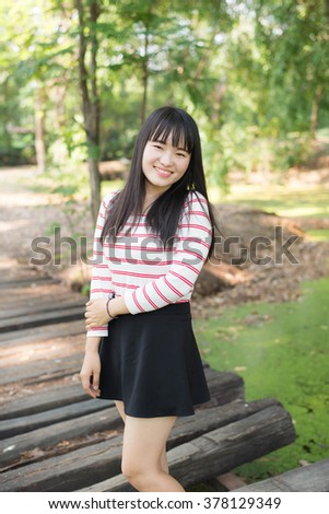 Women smiling - stock photo