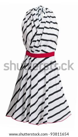 women sundress - stock photo