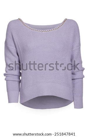women sweater isolated