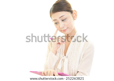 Women who are confused - stock photo