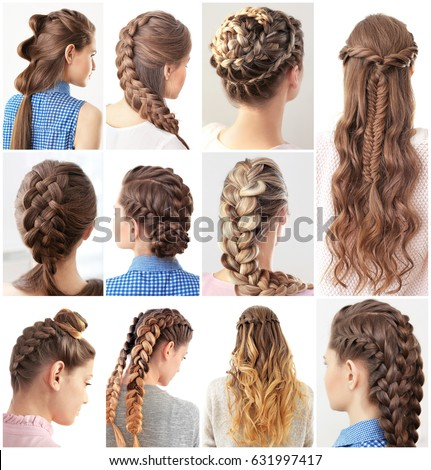 how to do different hair style different hairstyles stock photo edit now 9008