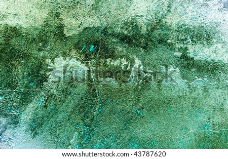 Wonderful turquoise colorful texture can be used as background. - stock photo