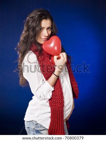 Wonderful Valentine's present - stock photo