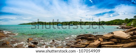Wong duean bay Samet island, Thailand - stock photo