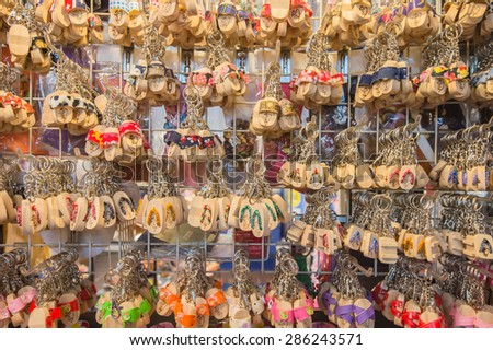 wood amulet  souvenirs in Taiwan