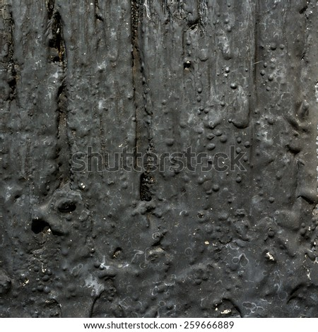 Wood and tar texture background square - stock photo