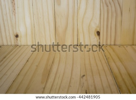 wood back drop