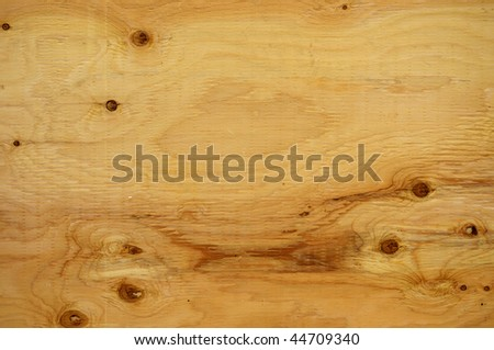 wood background, fir plywood - stock photo