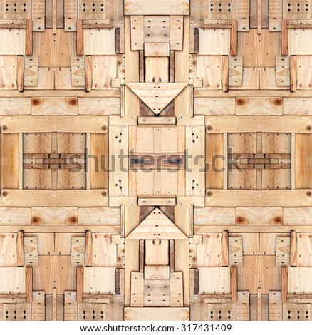 Wood background for Vintage wallpaper - stock photo