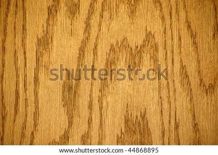 wood background, oak board, vertical - stock photo