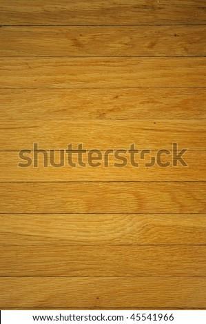 wood background, oak boards, horizontal - stock photo
