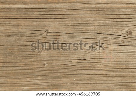 Wood background old textured plank with cracks. - stock photo