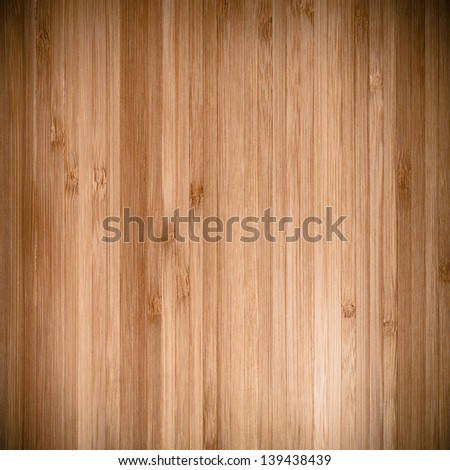 Wood background or texture. Bamboo kitchen board. - stock photo