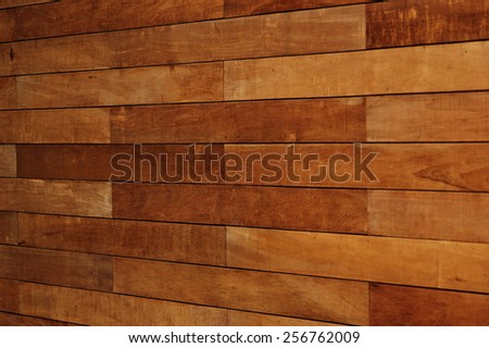 Wood background - perspective wooden