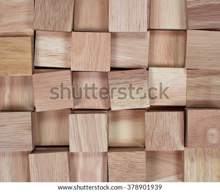 wood background : stack of lumber