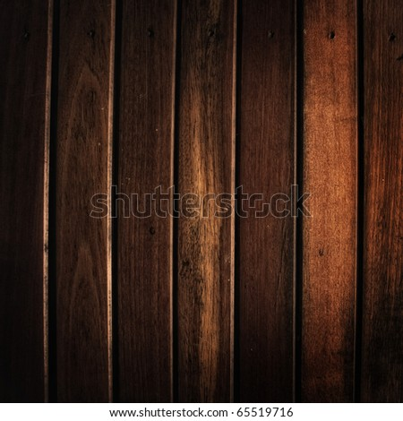 wood background vertical drop shadow - stock photo