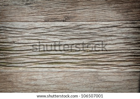 wood background with vignette - stock photo