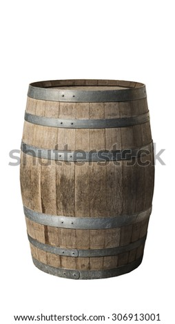 wood barrel