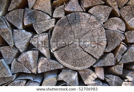 Wood batch - a background of wood stock - stock photo