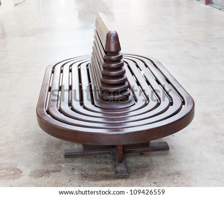 wood Bench - stock photo