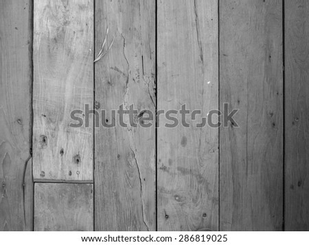 wood black and white background - stock photo