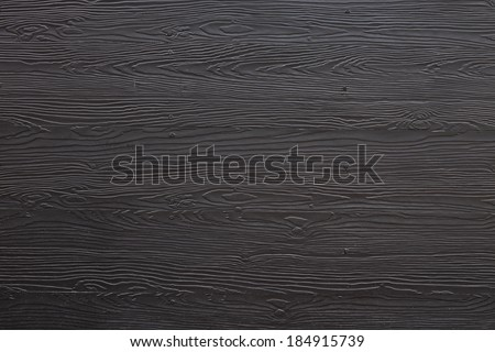 wood black plank texture background - stock photo