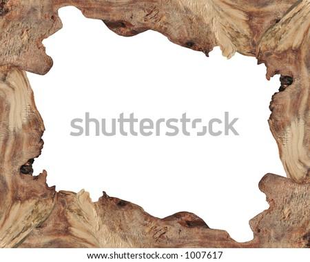 Wood Border - stock photo