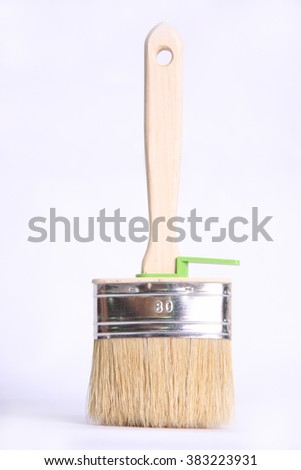 wood brush for paint