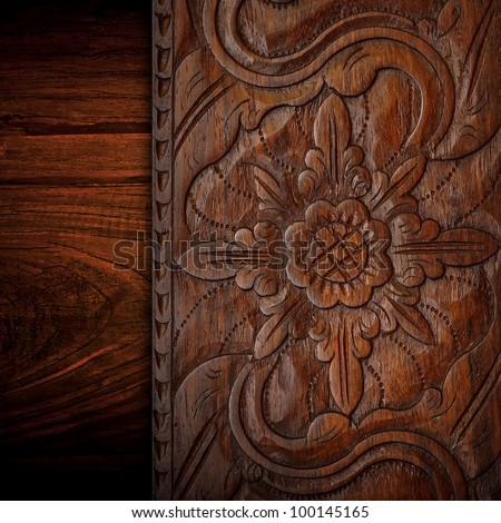 Wood carving board Stock Photos, Illustrations, and Vector Art