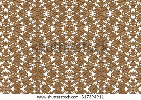 Wood carving. Thai style.(white background) - stock photo