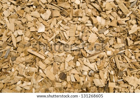 Wood chip background, used in playground area