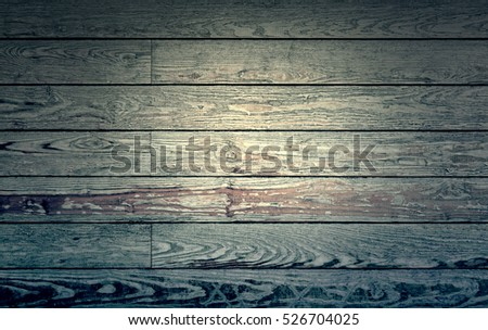 Wood damaged by time, detail of a wooden wall abandoned