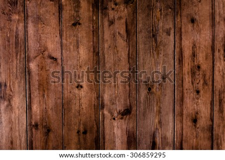 wood desk to use as background or texture - stock photo