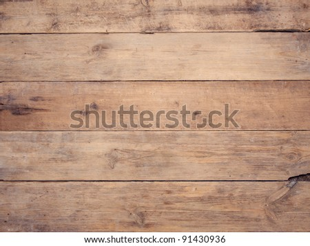Wood fence background - stock photo