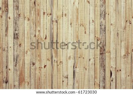 Wood fence surface - stock photo