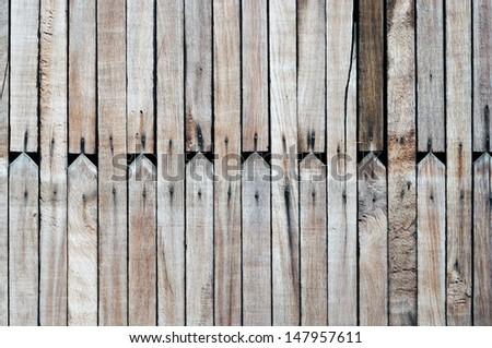 wood fence texture - stock photo